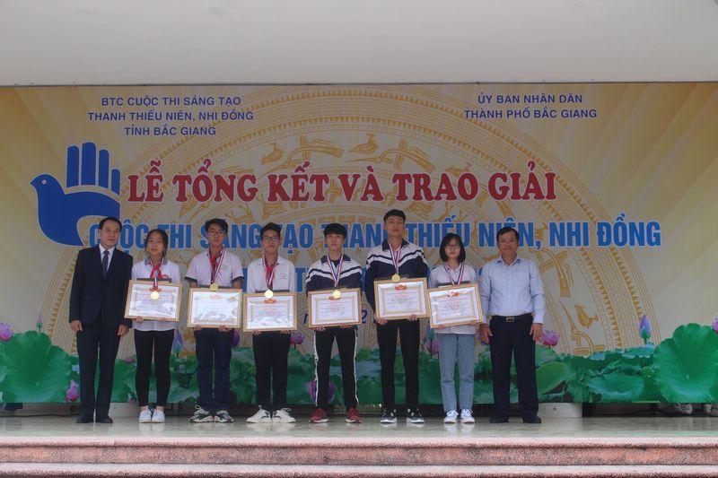 Tổng kết trao giải Cuộc thi sáng tạo TTN, NĐ tỉnh Bắc Giang lần thứ 16, năm 2020