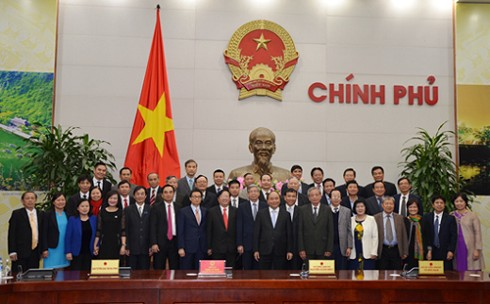 Thủ tướng Nguyễn Xuân Phúc: Chính quyền các cấp cần lắng nghe ý kiến tâm huyết của các nhà khoa học