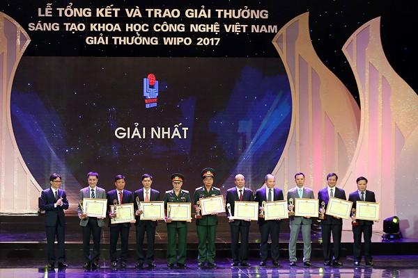 40 công trình xuất sắc đoạt giải thưởng sáng tạo khoa học công nghệ năm 2017
