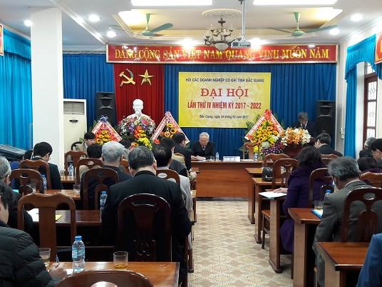 Đại hội Hội các Doanh nghiệp cơ khí tỉnh Bắc Giang lần thứ IV