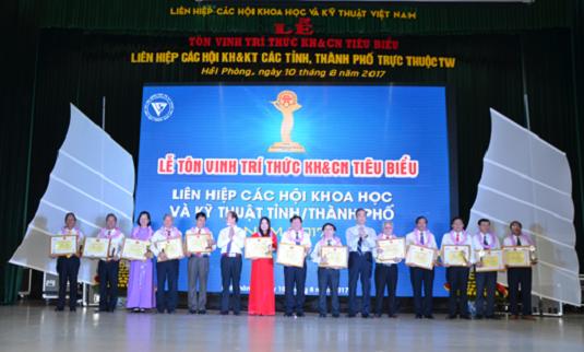 Hội nghị Giao ban toàn quốc và tôn vinh trí thức tiêu biểu năm 2017