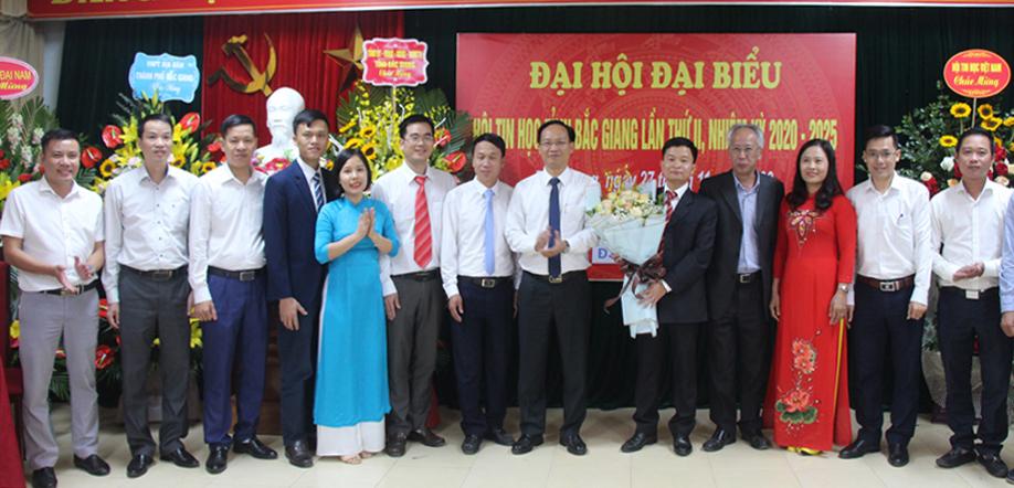 Ông Nguyễn Gia Phong giữ chức Chủ tịch Hội Tin học tỉnh Bắc Giang nhiệm kỳ 2020-2025