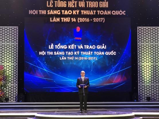 Tổng kết và trao giải Hội thi Sáng tạo kỹ thuật toàn quốc lần thứ 14