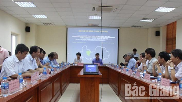 Phản biện Quy hoạch vùng huyện nông thôn mới Lạng Giang đến năm 2040