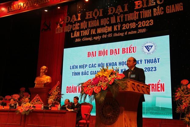 Đại hội đại biểu Liên hiệp hội tỉnh Bắc Giang lần thứ IV thành công tốt đẹp