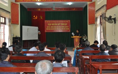 Dự án nghiên cứu KH&CN cấp tỉnh: Trồng Cam V2 trên đất đồi huyện Yên Thế