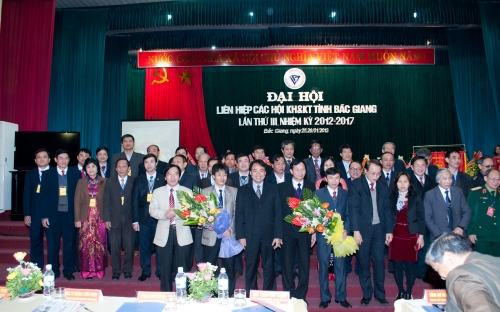 Đại hội Liên hiệp các hội Khoa học và Kỹ thuật tỉnh Bắc Giang, khoá III, nhiệm kỳ 2012 - 2017