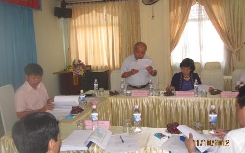 Hội nghị phản biện quy hoạch phân bổ & bảo vệ tài nguyên nước tỉnh Bắc Giang giai đoạn 2012 - 2020